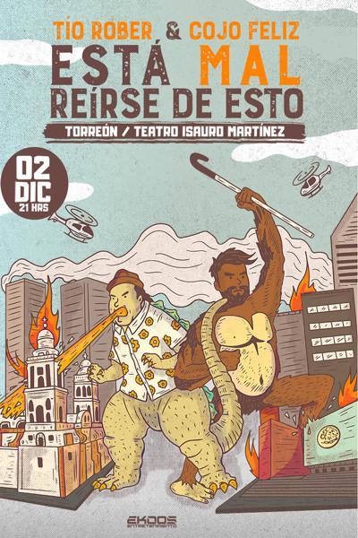 TÍO ROBER & COJO FELIZ, ESTÁ MAL REÍRSE DE ESTO